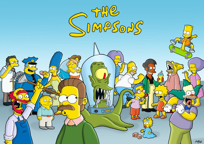 the_simpsons_by_jamieb91-d52y9cb (700x494, 131Kb)