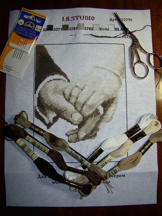 Схема вышивки рука в руке фото 530