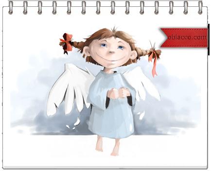 Ангел из бумаги на проволочном каркасе