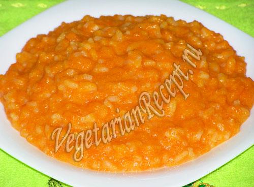 каша рисовая тыквенная рецепт
