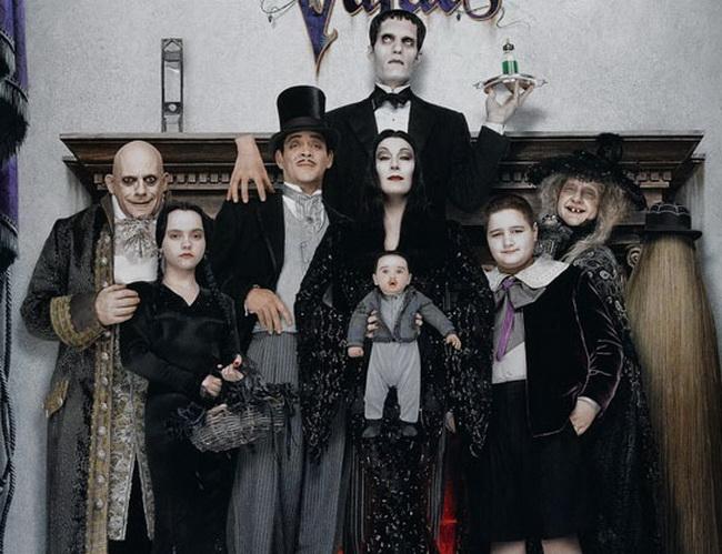 адамс семейка картинки
