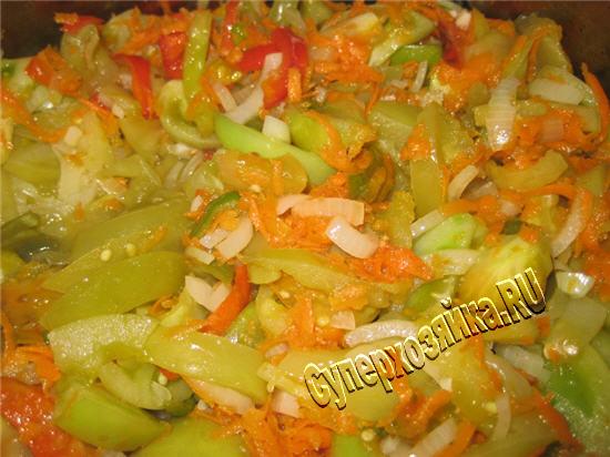 Рецепт соленых зеленых помидоров с чесноком и перцем: отличная острая закуска рекомендации