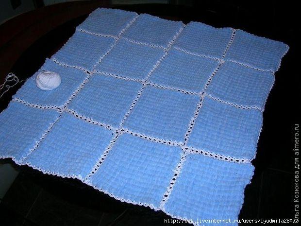 вязание из плюшевой пряжи видео