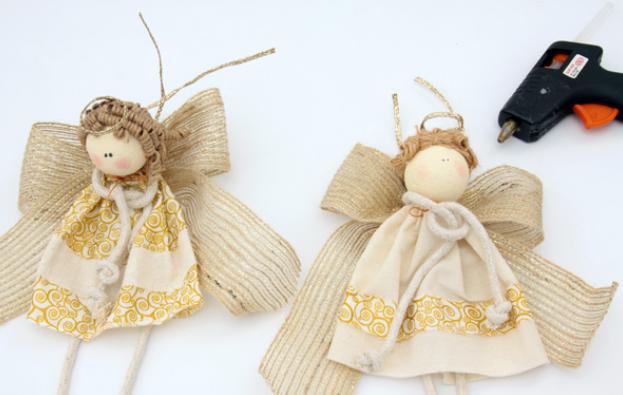Как сделать ангелочка своими обереговая куколка