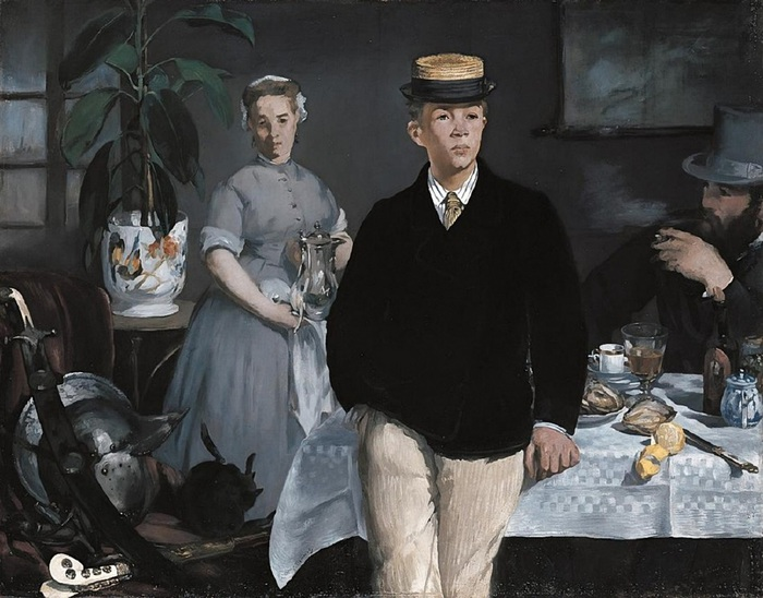 Luncheon_in_the_Studio_-_Manet (700x548, 123Kb)