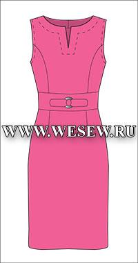 Онлайн выкройки бесплатно платье смотреть