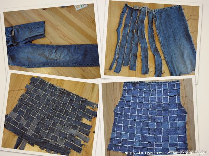 Джинсовая жилетка своими руками из джинсовой куртки 788