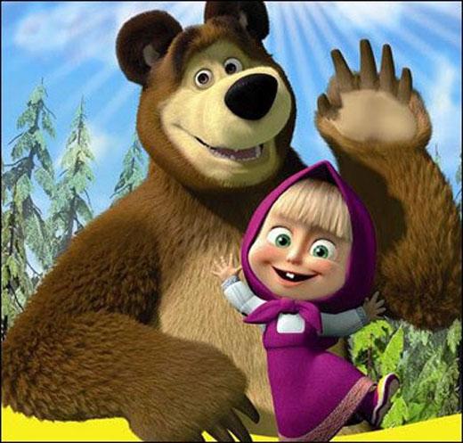 Маша и медведь занимаются сексом секс да