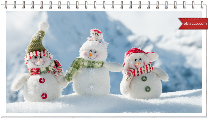 Веселые снеговики из рукавичек и много, много других новогодних украшений/3518263__4_ (700x400, 361Kb)