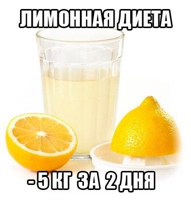 Лимонная диета на 2 дня отзывы