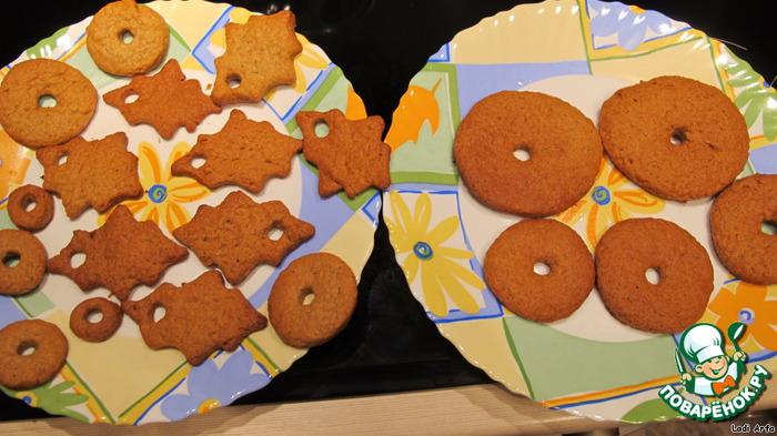 Имбирное печенье - Колокольчики
