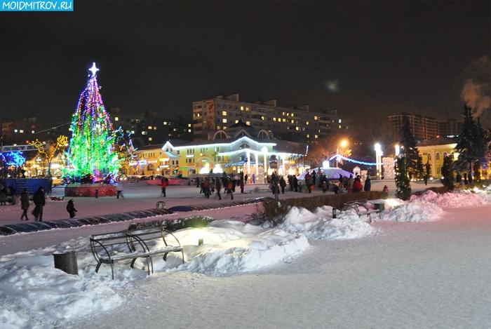 Вечерний новогодний дмитров фото