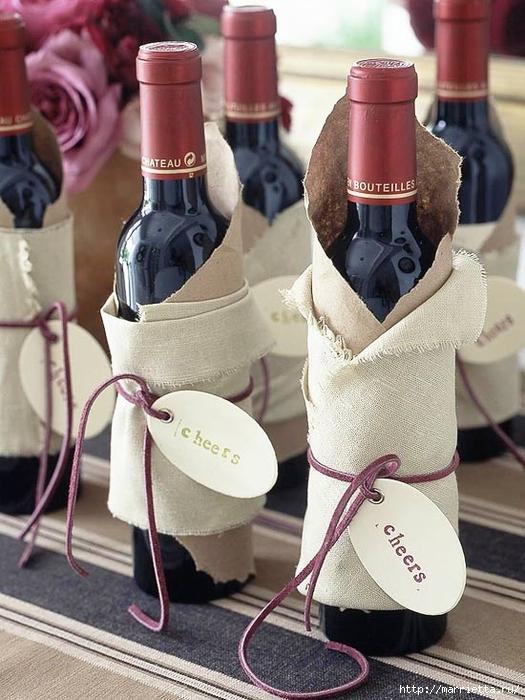 новогодняя упаковка и украшение бутылок (9) (525x700, 283Kb)