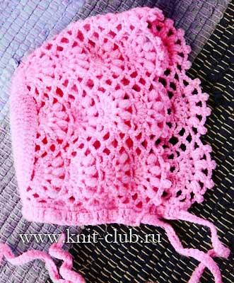 розовая детская шапочка для новорожденного обсуждение на