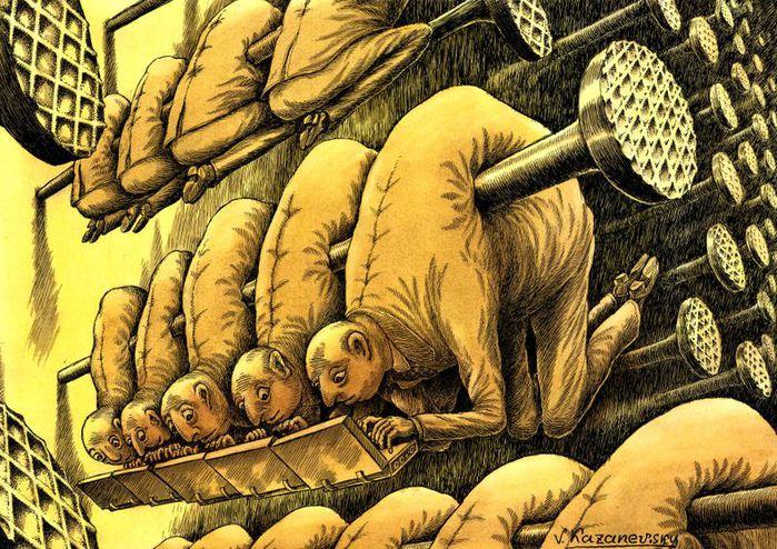 владимир казаневский карикатура
