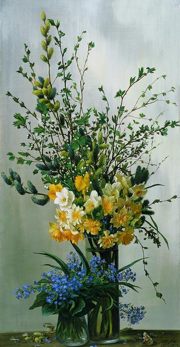 Полевые цветы в живописи современных художников