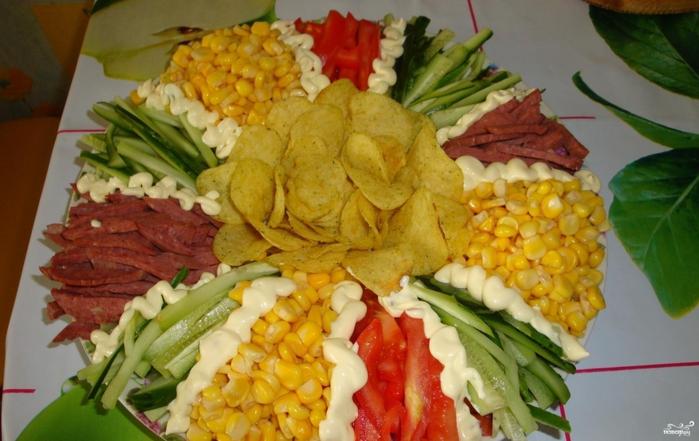 салат необычный вкусный рецепт
