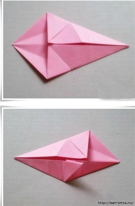 Японский мастер класс оригамие сделай сам #12
