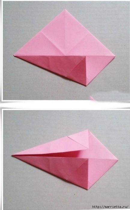 Японский мастер класс оригамие сделай сам #11