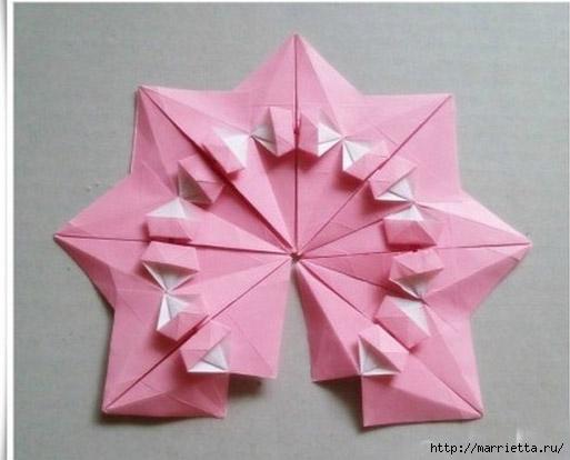 Японский мастер класс оригамие сделай сам #9