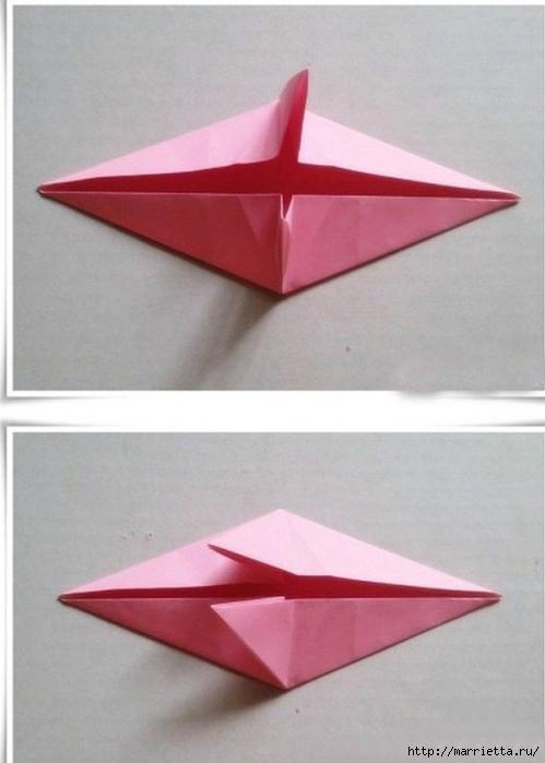 Японский мастер класс оригамие сделай сам #10
