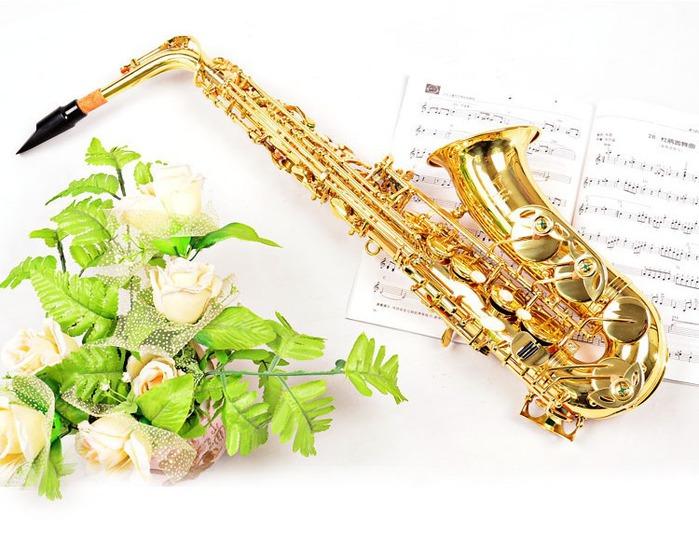 Саксофон открытки, ручной работы
