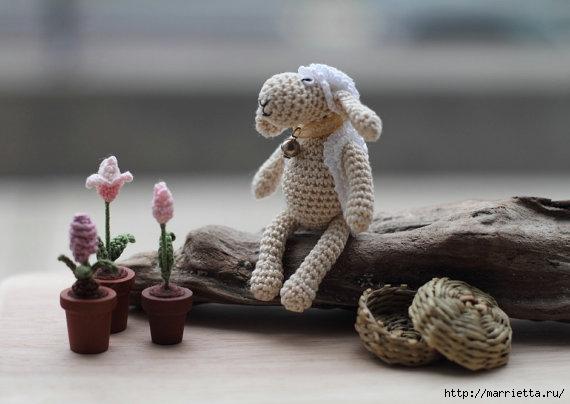 Миниатюрные игрушки амигуруми от FancyKnittles (17) (570x404, 102Kb)