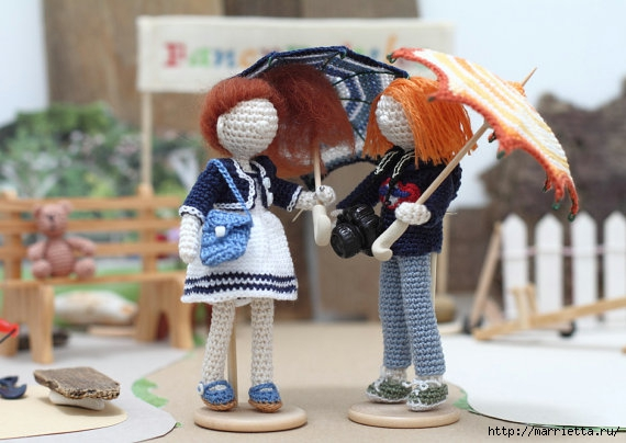 Миниатюрные игрушки амигуруми от FancyKnittles (31) (570x404, 140Kb)