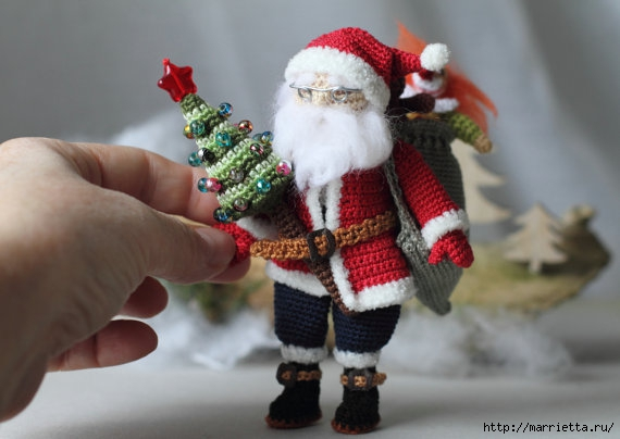 Миниатюрные игрушки амигуруми от FancyKnittles (47) (570x404, 113Kb)