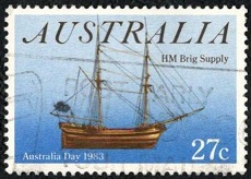66.1.2.1.1 1x50 Australia Day 1983 HM Brig Supply (230x164, 22Kb)