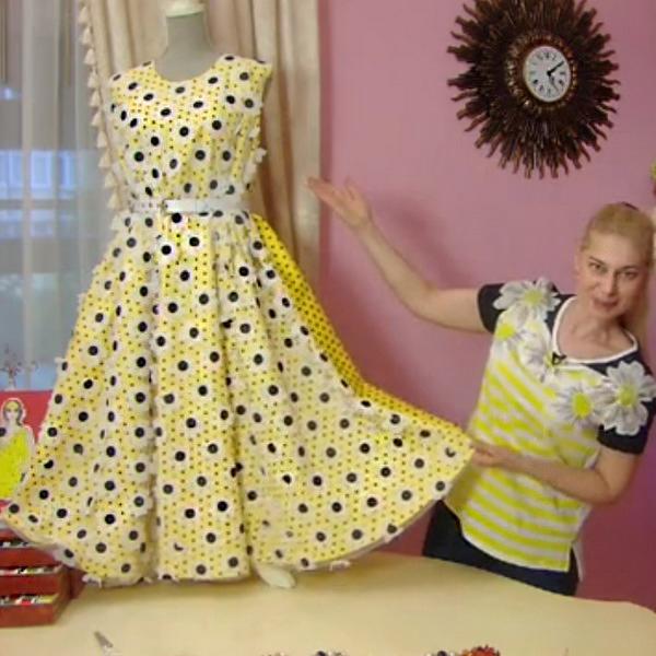 82e4a76f81e Яркое летнее платье от Ольги Никишичевой. Обсуждение на LiveInternet ...
