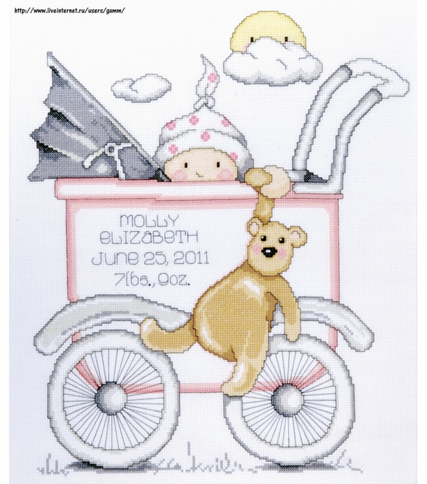 5929415_Design_Works__Boy_Baby_Buggy_sampler (617x700, 317Kb)