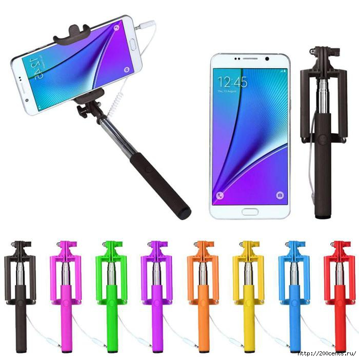 Best seller Extendable Handheld Self-portrait Tripod Monopod Stick For iPhone and other Smartphone selfie stick/5863438_BestsellerExtendableHandheldSelfportraitTripodMonopodStickForiPhoneandotherSmartphoneselfiestick1 (700x700, 150Kb)