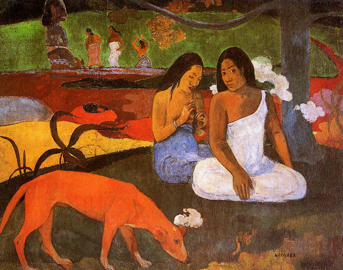 Поль Гоген _www.nevsepic.com.ua_gauguin-paul-passing-time-sun (700x551, 246Kb)