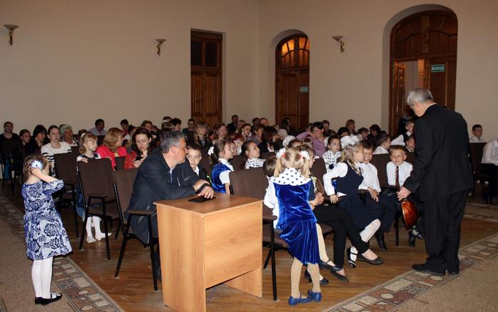 Отчётный концерт учащихся школы. Грайворон