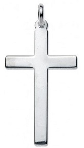 Sterling Silver Medium Latin Cross (164x288, 6Kb)