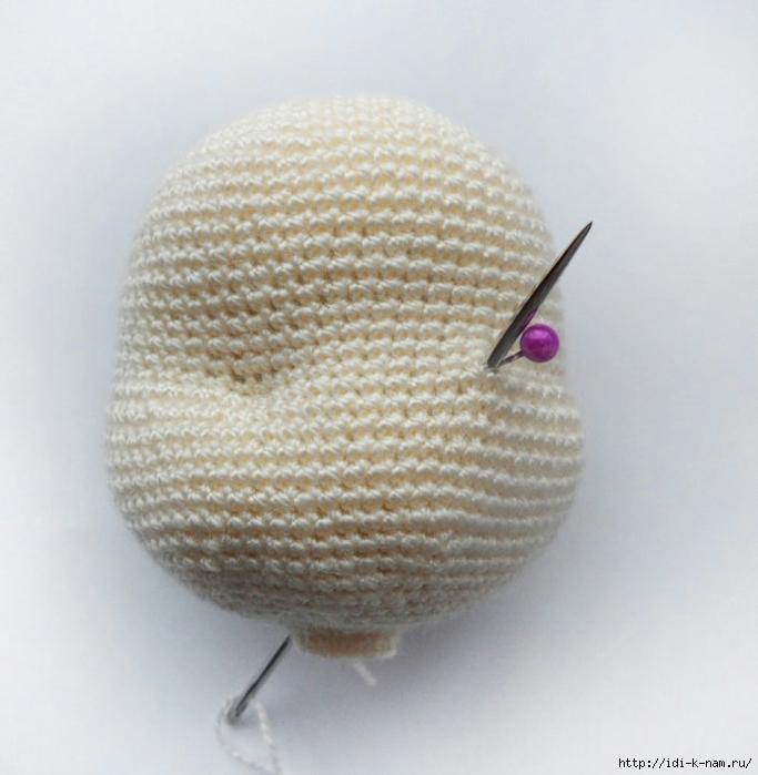 утяжка лица вязаной куклы обсуждение на Liveinternet российский