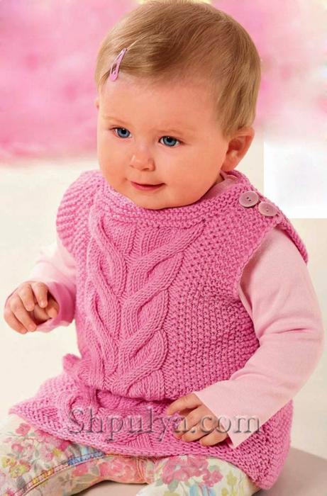 вязание спицами детям от 0 до 3 лет самое интересное в блогах