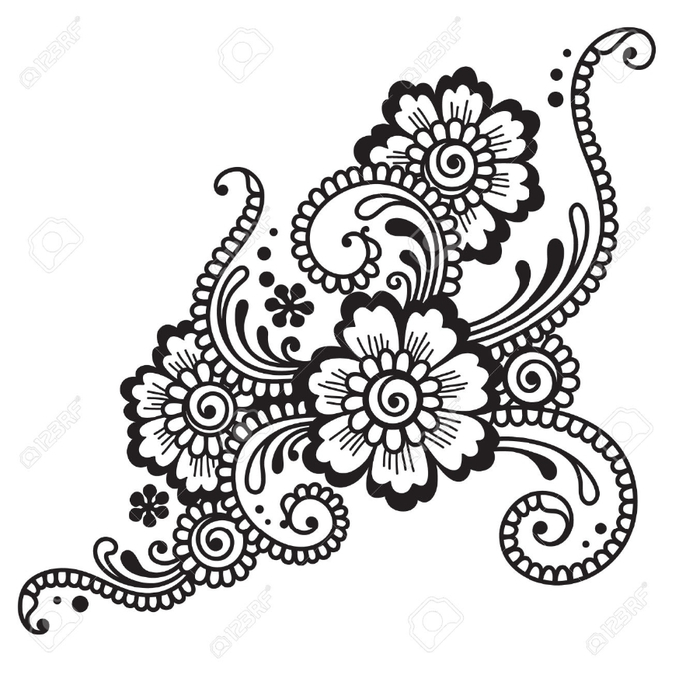 23867156-Flower-ornament-Stock-Vector-henna-mehndi-tattoo (693x700, 220Kb)