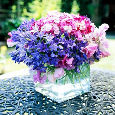 Красивый букет луговых цветов фото