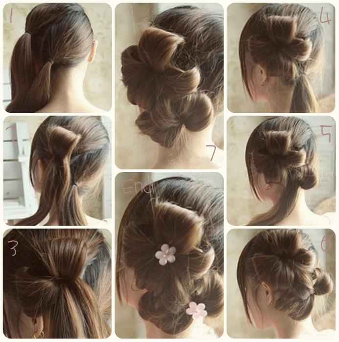 DIY crafts How to Make Simple Easy Bow Ribbon Hair Bow Tutorial  DIY ribbon bow  Julia DIY