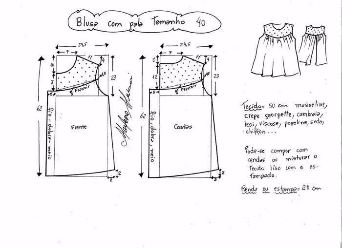 Блузка с кружевной открытой спинкой (3) (700x509, 142Kb)