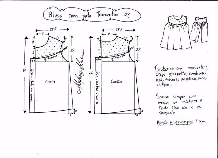 Блузка с кружевной открытой спинкой (7) (700x509, 146Kb)