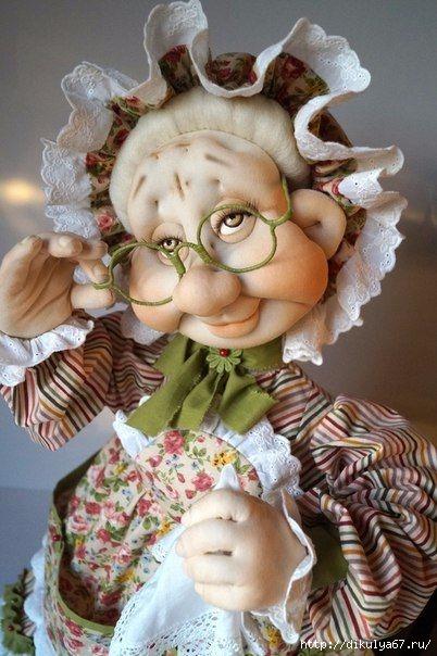 Куклы из колготок самое лучшее в блогах