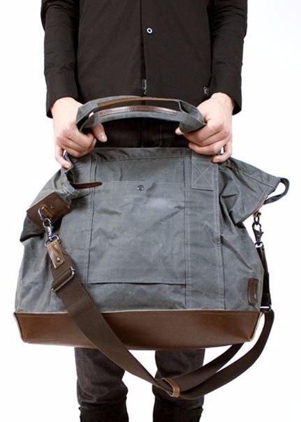 67f2c916bfc0 Дорожная сумка своими руками. Выкройка — HandMade