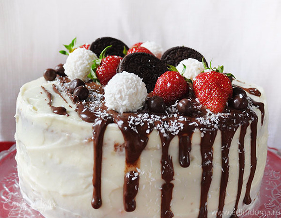 Шоколад при застывании будет удерживать ягоды.