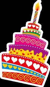 Картинки по запросу день рождения рамка клипарт