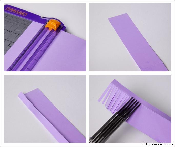 Гиацинт из бумаги в технике квиллинг (10) (683x574, 209Kb)