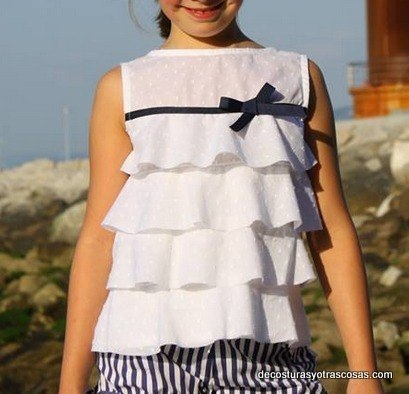 b6c944513ef блузка для девочки - Самое интересное в блогах