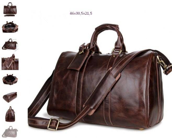 736e6e5682dc Мужская дорожная кожаная сумка ROBERT CAFFA цена 11500р.